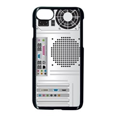 Standard Computer Case Back Apple Iphone 7 Seamless Case (black) by BangZart