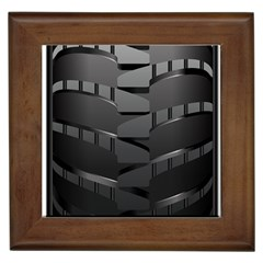 Tire Framed Tiles