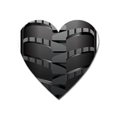 Tire Heart Magnet by BangZart