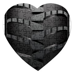 Tire Jigsaw Puzzle (heart) by BangZart