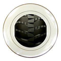 Tire Porcelain Plates by BangZart