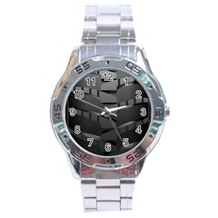 Tire Stainless Steel Analogue Watch by BangZart