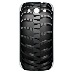 Tire Samsung Galaxy S3 S Iii Classic Hardshell Back Case by BangZart