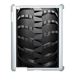 Tire Apple Ipad 3/4 Case (white) by BangZart
