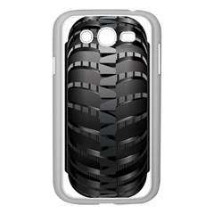 Tire Samsung Galaxy Grand Duos I9082 Case (white) by BangZart