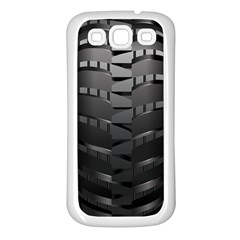 Tire Samsung Galaxy S3 Back Case (white)