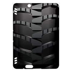Tire Kindle Fire Hdx Hardshell Case by BangZart