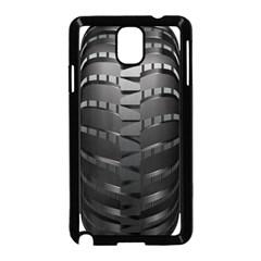 Tire Samsung Galaxy Note 3 Neo Hardshell Case (black) by BangZart