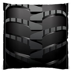 Tire Standard Flano Cushion Case (two Sides) by BangZart
