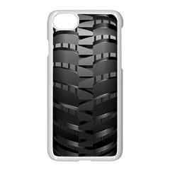 Tire Apple Iphone 7 Seamless Case (white) by BangZart