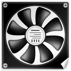 12v Computer Fan Canvas 12  X 12   by BangZart