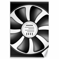 12v Computer Fan Canvas 20  X 30   by BangZart