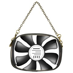 12v Computer Fan Chain Purses (one Side)  by BangZart