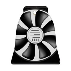 12v Computer Fan Ornament (bell)