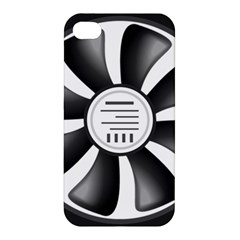12v Computer Fan Apple Iphone 4/4s Premium Hardshell Case by BangZart