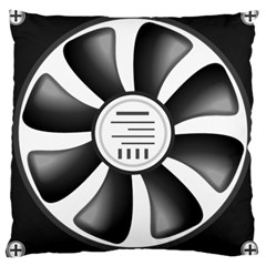 12v Computer Fan Large Cushion Case (one Side) by BangZart
