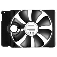 12v Computer Fan Apple Ipad Mini Flip 360 Case by BangZart