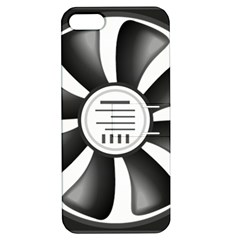 12v Computer Fan Apple Iphone 5 Hardshell Case With Stand by BangZart