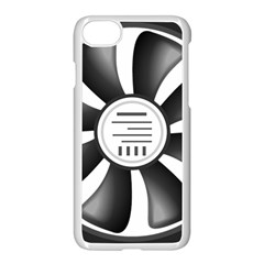 12v Computer Fan Apple Iphone 7 Seamless Case (white) by BangZart