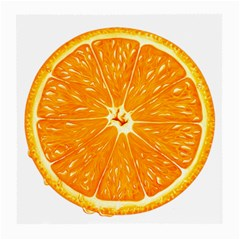 Orange Slice Medium Glasses Cloth by BangZart