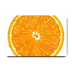 Orange Slice Small Doormat  by BangZart