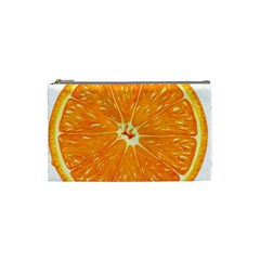 Orange Slice Cosmetic Bag (small)  by BangZart