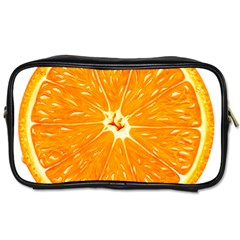 Orange Slice Toiletries Bags 2 Side