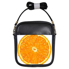 Orange Slice Girls Sling Bags by BangZart
