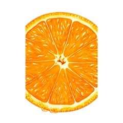 Orange Slice Shower Curtain 48  X 72  (small)  by BangZart