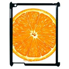 Orange Slice Apple Ipad 2 Case (black)