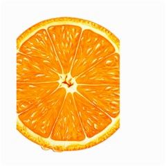 Orange Slice Small Garden Flag (two Sides) by BangZart