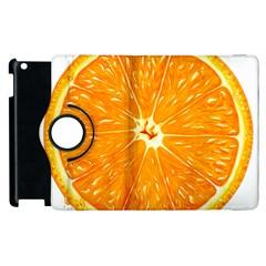 Orange Slice Apple Ipad 3/4 Flip 360 Case