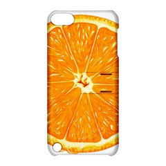 Orange Slice Apple Ipod Touch 5 Hardshell Case With Stand