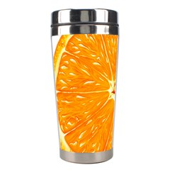 Orange Slice Stainless Steel Travel Tumblers