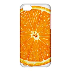 Orange Slice Apple Iphone 5c Hardshell Case