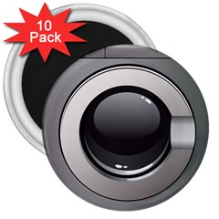 Washing Machine 3  Magnets (10 Pack)