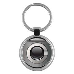 Washing Machine Key Chains (round)