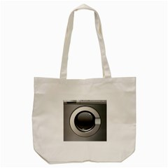 Washing Machine Tote Bag (cream) by BangZart