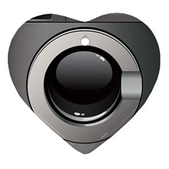 Washing Machine Heart Ornament (two Sides) by BangZart