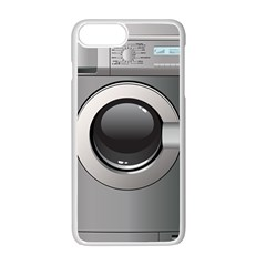 Washing Machine Apple Iphone 7 Plus White Seamless Case by BangZart