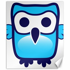 Owl Logo Clip Art Canvas 20  X 24   by BangZart