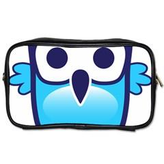 Owl Logo Clip Art Toiletries Bags by BangZart