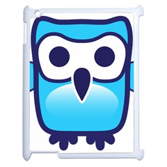 Owl Logo Clip Art Apple Ipad 2 Case (white) by BangZart