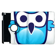 Owl Logo Clip Art Apple Ipad 2 Flip 360 Case by BangZart