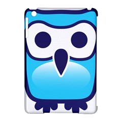 Owl Logo Clip Art Apple Ipad Mini Hardshell Case (compatible With Smart Cover) by BangZart