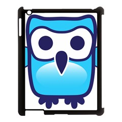 Owl Logo Clip Art Apple Ipad 3/4 Case (black) by BangZart