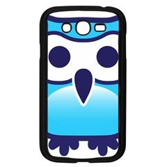 Owl Logo Clip Art Samsung Galaxy Grand Duos I9082 Case (black) by BangZart