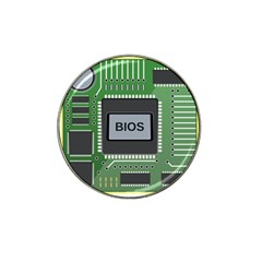 Computer Bios Board Hat Clip Ball Marker by BangZart