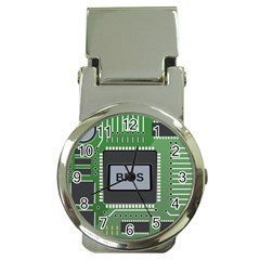 Computer Bios Board Money Clip Watches by BangZart