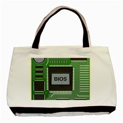 Computer Bios Board Basic Tote Bag by BangZart